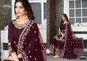 Your Choice Zaraa Georgette Designer Salwar Suit With Sharara Catalog