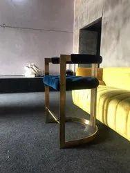 Blue Bar Stool Chair