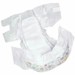 Nonwoven Disposable Newborn Baby Diaper, Age Group: Newly Born, Packaging Size: 50