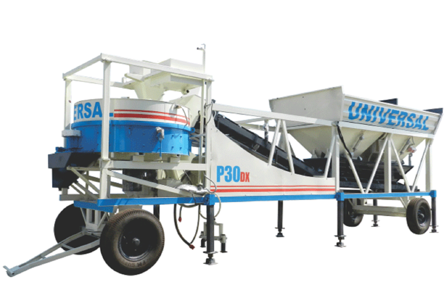 Large Capacity Fully Automatic Pld Series Mobile Automatic