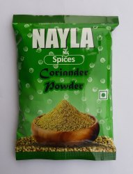 NAYLA Coriander Powder, 100gm, Packaging Type: Packet