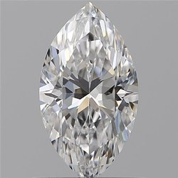 0.70ct Marquise D VS1 GIA Certified Natural Diamond