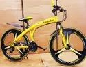 Mercedes Benz Yellow Shark Foldable Cycle