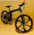 Black Being Human Foldable Cycle