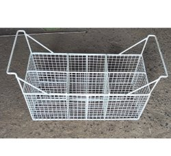 Ss Rectangular Fridge Wire Basket