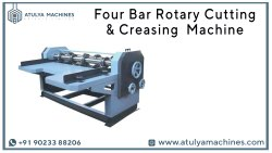 Four Bar Rotary Cutting and Creasing Machine