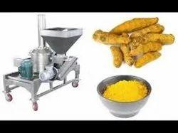 Haldi Mirchi Dhaniya Powder Making Machine