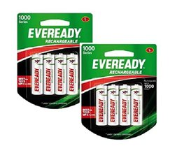 Eveready Rechargeable Battery-1000 Series