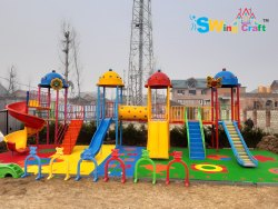 Bliss Castel Outdoor FRP Multi Play Station