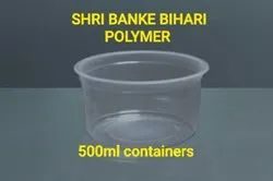 500 Ml  Plastic Sealing Container