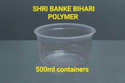 Disposable Food Packaging Container 500ml