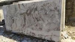 Brown Polished Marble Slab, Thickness: 18 mm, Size: 8 X 4 Feet