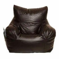 Leather Bean Bag Sofa