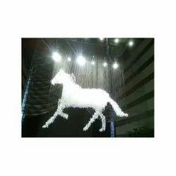 Hanging LED Crystal Chandelier