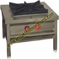 Srisakthiinnovations LPG Cooking Burner Range, For Hotel