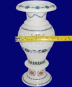Marble Stone Inlay Flower Vase