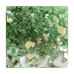 Green Crushed Glass, Thickness: 4mm, Size: 4-9mm