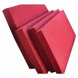椰壳和泡沫红色床垫,厚度:6英寸