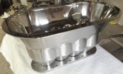 Stainless Steel Jacketed Hopper