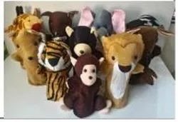 ANIMAL PUPPETS SET OF 6