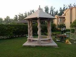 Sandstone Oudoor Chatri