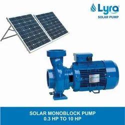 Lyra Solar Monoblock Pump, For Submersible