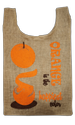 15 inch Printed U Cut Grocery Bag