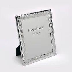 Voguishly Designed Silver Photo Frame, Size- 8x10