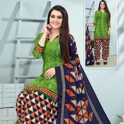 Low Range Printed Leon Unstitched Salwar Suit -12 Pcs Catalog