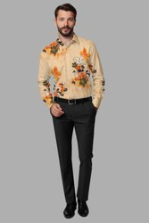 raiyo Poly Twill Designer Shirt, Size: S-xxl