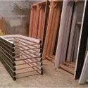 Wooden Door Frame, Frame Material: Malaysian Saku And Rajak, Size: 4 X 2.5 Feet