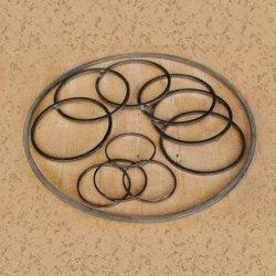 Round Graphite Seal, Size: 3 inch
