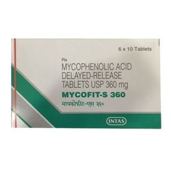 Mycophenolic Acid Delayed Release Tablet USP