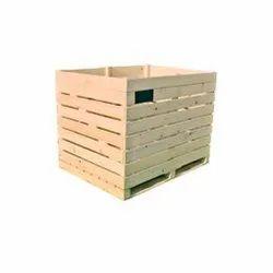 Cold Storage Wooden Bins
