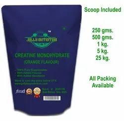 Orange Flavoured Creatine Monohydrate Powder