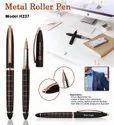 Black Matt Corporate Promotional Metal Roller Pen