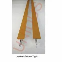 24 mm Wide T-Grid Suspension System Golden