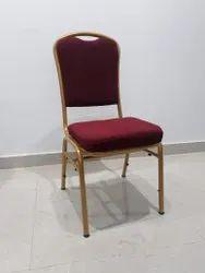 Metallic Banquet Chair