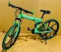 Green Mercedes Benz Foldable Cycle
