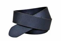 Men Formal Black Leather Belt, Size: 32-42