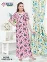 Full Length Alphine Alpine Nighties, Free Size, Age Group: 24 Up To