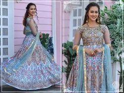 Chennai Silk Women Wear Bridal Gown