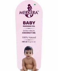 Merkera Baby Massage Oil, Packaging Size: 100 Ml