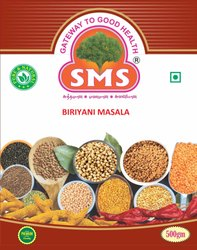500 G SMS Briyani Masala, Packaging Type: Box