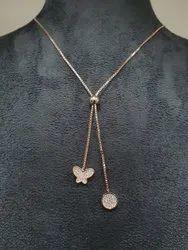 Golden Party Wear Fancy Jewelry