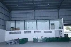 Prefab Steel Industrial Shelter