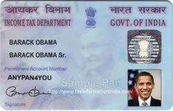 Offline Plastic Pan Card Services
