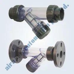UPVC Strainer Socket Weld / Flanged