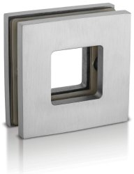 High Quality Glass Sliding Square Door Handle Precision Casting Handle ASDH-03