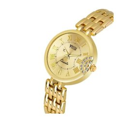 Youth Club Formal Golden Analog Watch, Model Name/Number: BR-3182GLD